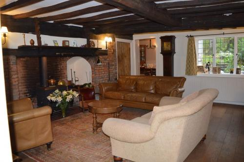 Sitting Room at Cowleigh Park Farm